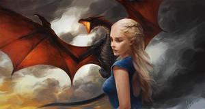 Daenerys Targaryen by linxz2010