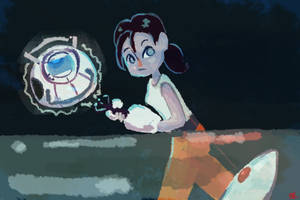 Portal 2 I'm different by PaperBird