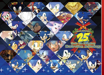 Sonic the Hedgehog 25th anniversary anthology by MRi