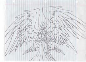 Six winged Seriph by Svennah