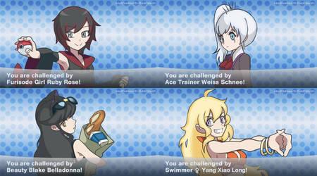 RWBY Pokemon Trainers by depression76