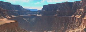 Tharsis Canyon by neutrix