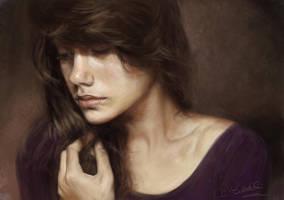 portrait study by speedy-painter