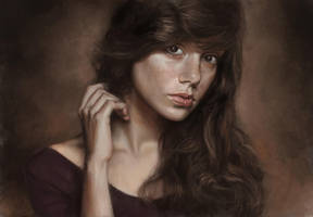 female portrait by speedy-painter