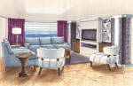yacht living room by AvarielGirl