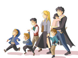 The Fuhrer's Family by hayate-hime