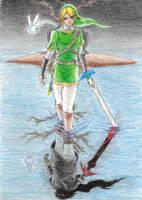 Darkest Hyrule: Reflection by Aurion-Magnus