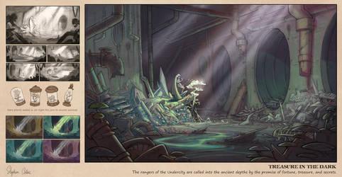 Treasure in the Dark by oraclestudios