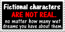 fictional characters stamp by piratekit