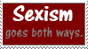 sexism stamp by piratekit