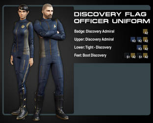 Discovery Uniform color Guide (Flag Officer) by Taidyr