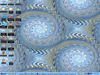 Abstraction Desktop by Kitty-Lune