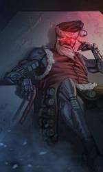 Cyber-Santa by LeM0N-head