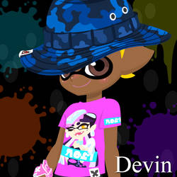 Devin in Team Callie by Charchu-Devin
