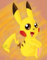 Pika Pikachu! by Skaicat