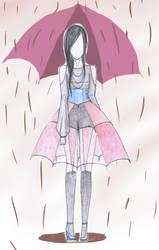 Rainy Day Fashion no.2 by CandyApplePie
