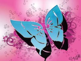 butterfly vector by lnx03