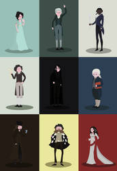 Jonathan Strange and  Mr Norrell by isintokol