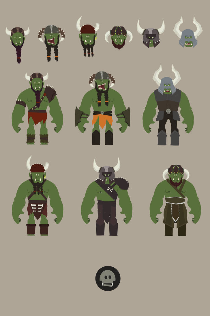 Orcs by isintokol