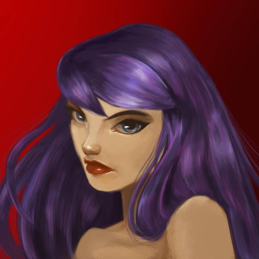Elwnyx Portrait by isintokol