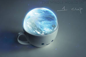 the whole world in 1 cup by vindielein