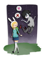 Fionna and Marshall by Manly-Rainbow