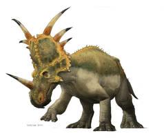 Styracosaurus by pheaston