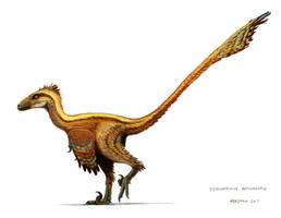 Deinonychus antirrhopus by pheaston