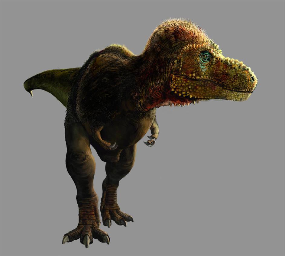 Tyrannosaurus rex by pheaston