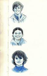Face Study by AlexandriaMonik