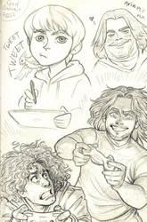 Grump Page! by AlexandriaMonik