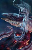 Alien water kiss by soys