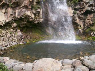 Elaweasel Waterfall Stock by Elaweasel
