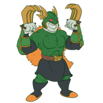 Green Wolverine by Sloth-Power