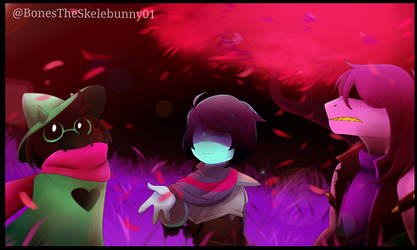 Field Of Hopes and Dreams (Deltarune) by BonesTheSkelebunny01