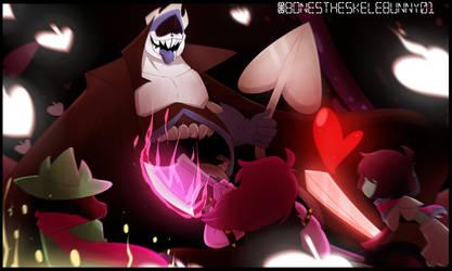 King of Spade (Deltarune) by BonesTheSkelebunny01