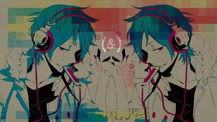 Wall :: Pink static by Raki-san