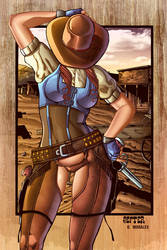 Dorothy Gale from Oz: Wicked West colored by Dany-Morales