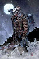 JASON VOORHEES print by Puis Calzada colored by Dany-Morales