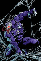 Venom 2099 by Brian Soriano colored by Dany-Morales