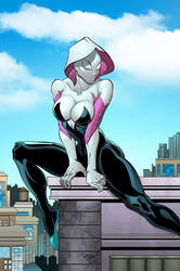 Spider Gwen by Saul Shavanas colored by Dany-Morales