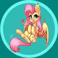 Fluttershy by PassigCamel