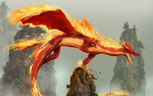 Fire Dragon by spirit-warri0r