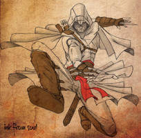 Assassins Creed - Altair by ink-from-soul