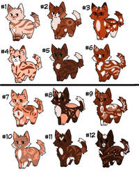 12 kitten adopt for TDS  by liongirl44