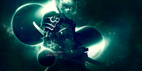 Cyberpunk/samurai? by Nasser-Des