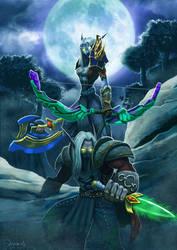 - World of Warcraft - Elves by sergio-quijada