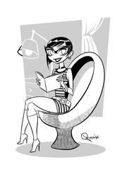 - 60s girl - by sergio-quijada