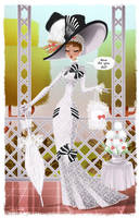 - Audrey Hepburn - My Fair Lady by sergio-quijada