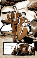 - Bonnie and Clyde - by sergio-quijada
